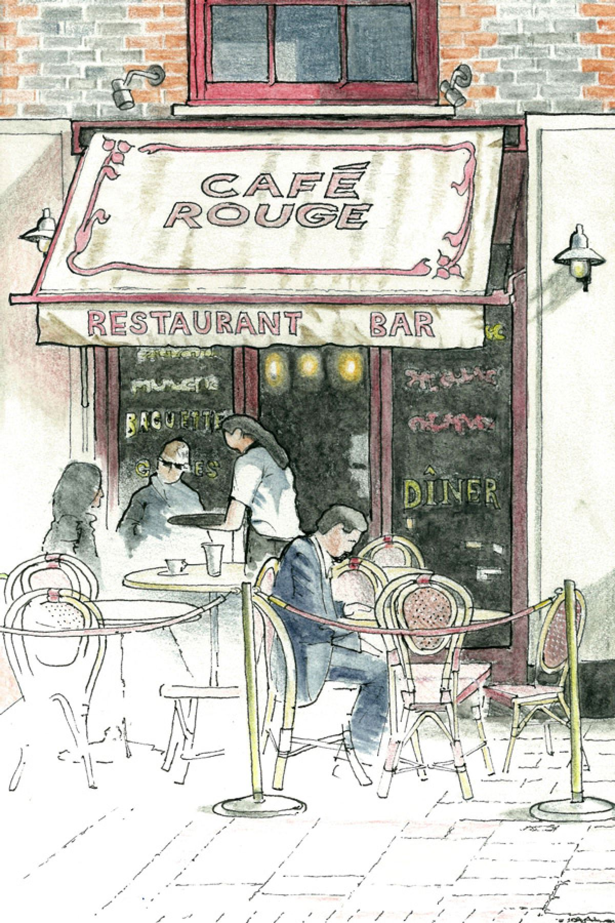 Cafes, Pubs and Restaurants