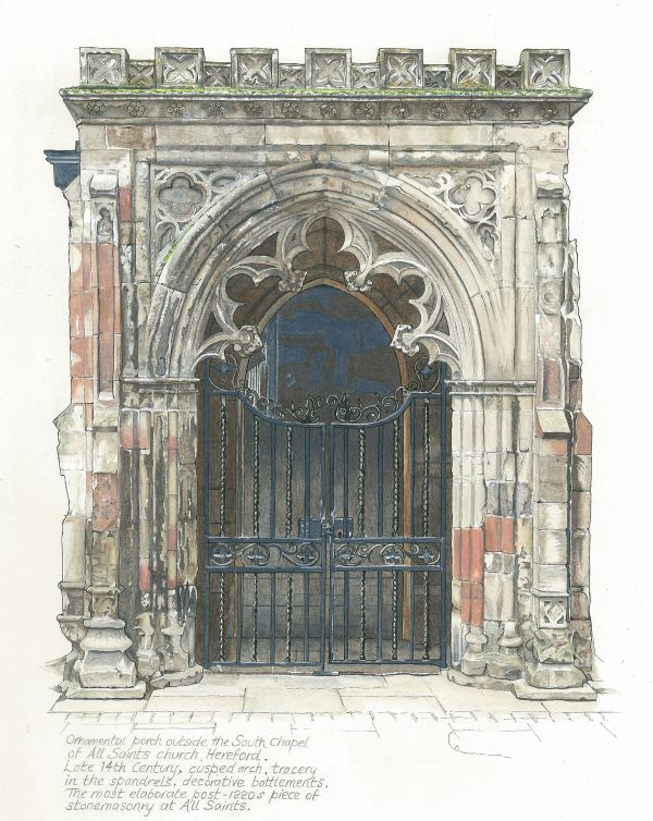 All Saints Porch, Hereford