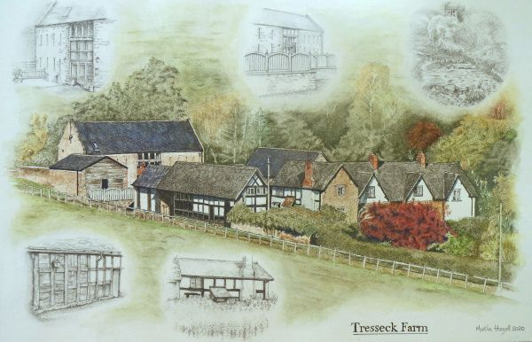 Tresseck Farm, Hoarwithy, Herefordshire