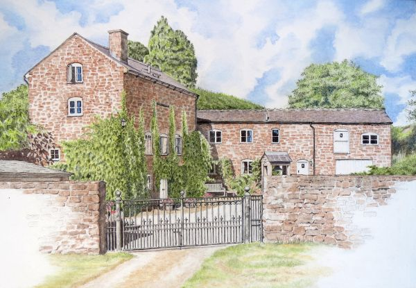 The Old Mill, Hoarwithy, Herefordshire