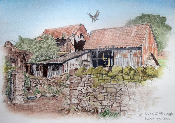 Altbough Barns, Herefordshire